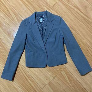 イング テーラードジャケット スーツ ジャケット グレー レディース m s