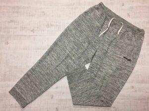 ラングラー Wrangler スウェットパンツ ボトムス メンズ 霜降り ロゴ刺繍 裾リブ 大きいサイズ 4L ライトグレー