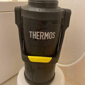 THERMOS 真空断熱スポーツジャグ 3L 3リットル FFV-3000 蛍光イエロー ブラックオレンジ