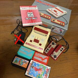 Nintendo HVC-001 ファミリーコンピュータ ファミコン ファミコン本体 任天堂 Nintendo