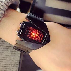★★メンズ腕時計 ファッション腕時計 デジタル腕時計 A026