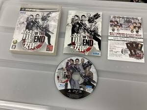 21-PS3-136 ジャンク プレイステーション3 龍が如く OF THE END 動作未確認