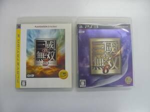 21-PS3-164 プレイステーション3 三国無双5.6 セット 動作品