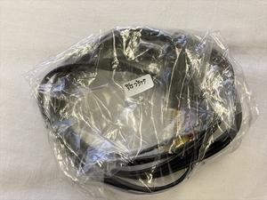 9/12 グレー端子より映像綺麗な純正黒端子 Nintendo 任天堂 AVケーブル ステレオケーブル スーパーファミコン 64 ゲームキューブ