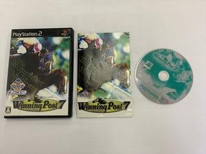 21-PS2-600 プレイステーション2 ウイニングポスト7 KOEI The Best 動作品 PS2 プレステ2