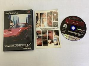 21-PS2-607 プレイステーション2 リッジレーサーファイブ 動作品 PS2 プレステ2