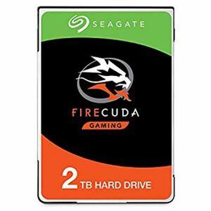 Seagate FireCuda 2.5インチ 2TB SSHD 内蔵HDD ST2000LX001メーカー保証2022年2/17