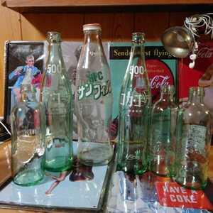 昭和 レトロ 缶 瓶 コカコーラ ファンタ コーヒー