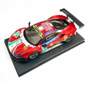 京商 ミニッツ用ボディ GLレーシング1 / 28 GL 488GT3ボディ レッド リミテッドエディション