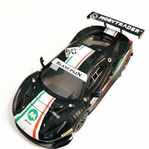 京商 ミニッツ用ボディ GLレーシング1 / 28 GL 488GT3ボディ ブラックリミテッドエディション