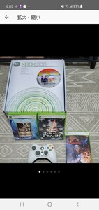 XBOX360 本体+ソフト3本セット