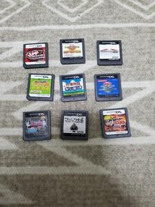 【まとめ売り】NintendoDS ソフト9本