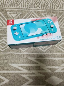 Nintendo Switch 本体 ターコイズ 美品
