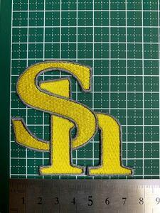 アイロンワッペン ソフトバンク 刺繍