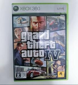 【Xbox360】グランド・セフト・オート4(動作確認済)gta4 gtaⅣ xbox360
