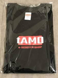 e-SCOOTER SHOP tAMO オリジナルロゴ入りTシャツ サイズM/L 公道走行用高性能電動キックボード専門店