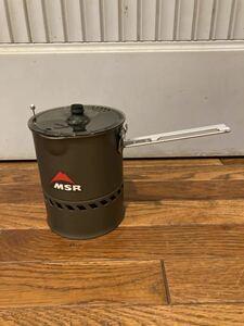 【新品】 MSR エムエスアール Reactor Stove 1.0L Potのみ (リアクターストーブ) キャンプ アウトドア