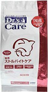 500g ドクターズケア (Dr's CARE) 療法食 猫用 ストルバイトケア フィッシュテイスト 500g