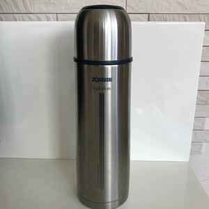 象印 ステンレスボトル SVーGF50 コップ付き 魔法瓶 水筒 タフスリム
