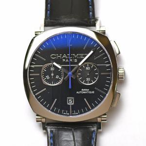 ショーメ CHAUMET ダンディ クロノグラフ オートマティック W11290-30A 自動巻 メンズ 紳士用 男性用 腕時計 研磨仕上げ済み 中古