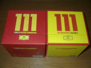 111 YEARS OF DEUTSCHE GRAMMOPHON The Collectors Edition 2BOX 全111枚組