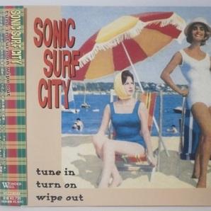 紙ジャケ 国内盤 Sonic Surf City Tune in Turn on Wipe Out 帯付CD 90s Power Pop Punk Surfin' Lungs