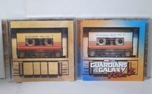 輸入盤 ガーディアンズ・オブ・ギャラクシー 最強ミックス Vol.1 & 2 CD2枚セット OST GUARDIANS OF THE GALAXY AWESOME MIX