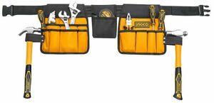 送料無料 腰袋 ツールバッグ 工具バッグ 腰袋 3段 小物入れ DIY 工具入れ 防水仕様 14ポケット 作業袋 釘袋