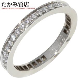 ヴァンクリーフ&アーペル Pt950 ダイヤ42P(約0.39ct) ロマンスエタニティリング VCARO1WO00 指輪