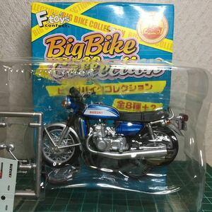 エフトイズ シークレット ビッグバイクコレクション スズキ SUZUKI GT750 1971 ブルー