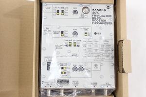 206◇【未使用】①MASPRO/マスプロ電工 FM/V-Low/UHF/BS/CSブースター FUBCAW43S アンテナブースター◇3333N3/6b*