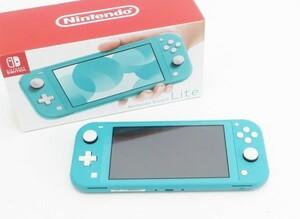 ○美品【任天堂】Nintendo Switch Lite/ニンテンドースイッチライト本体 HDH-S-BAZAA ターコイズ