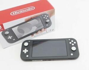 ○美品【任天堂】Nintendo Switch Lite/ニンテンドースイッチライト本体 HDH-S-GAZAA グレー