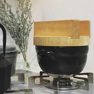 土鍋 炊飯器 万古焼 萬古焼 ばんこ焼 レンジ 直火 ご飯 炊ける 釜戸炊飯器