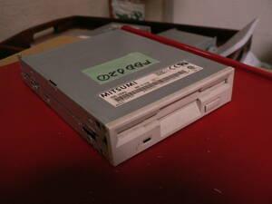 送料最安 210円 FD装02:ミツミ デスクトップPC用内蔵フロッピーディスク装置 MITSUMI D353M3 動作品