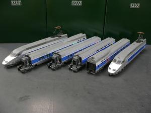*もけいや松原* JOUEF 7400&590300&590400 SNCF TGVアトランティック6両セット DC2線式