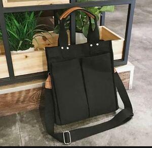 トートバッグ ショルダーバッグ 黒 キャンバス レディースバッグ 斜めがけ ボディーバッグ マザーズバッグ