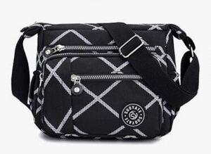 ショルダーバッグ 斜めがけ 黒 ボディーバッグ レディースバッグ iPad 斜めがけバッグ アウトドア マザーズバッグ サブバッグ