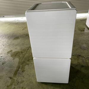 K0914-13 ユーイング 2ドア 冷蔵庫 110L UR-F110F-W 2016年製 ノンフロン ホワイト 小型 右開き 一人暮らし 家庭用 家電