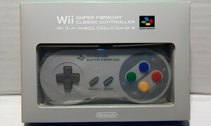 Wii スーパーファミコンクラシックコントローラー