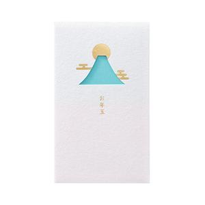 【即決】■窓ぽち袋■お年玉 /富士山 /3枚入り /添紙付 /マルアイ /ポチ袋 お年玉袋 //ノ-MD20B