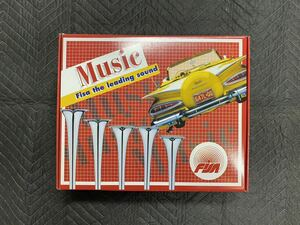 rare new goods unused made of metal music horn .. trumpet totsugeki trumpet old car group car that time thing rare FISA iron made plating