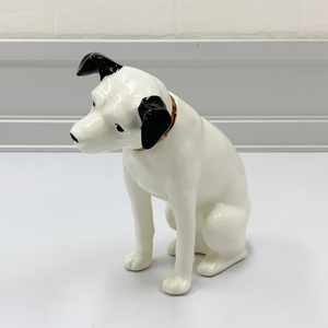 ビクター ニッパー 犬 置物 陶器