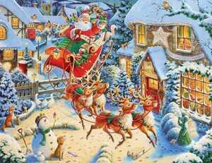 刺繍キット刺繍 ハンドメイド クリスマス サンタ クロスステッチ クロスステッチキット