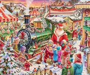 クロスステッチ サンタ クリスマス 刺繍キット 刺繍 インテリア