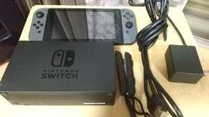 任天堂スイッチ Nintendo Switch 本体グレー 未対策機