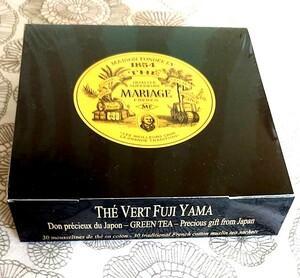 マリアージュフレール テベールフジヤマ 緑茶 ティーバッグ30包入り 紅茶専門店