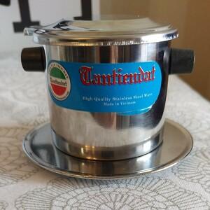 ベトナム式ドリップコーヒーキット ダラゴアコーヒードリップパック1枚プレゼント♪