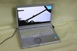 ジャンク品ノートパソコン Panasonic Let's note CF-NX3 COREi5 メモリ4GB HDD無 12.1inchワイド 代引き可