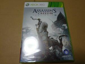 アサシン クリードIII Xbox360 未開封